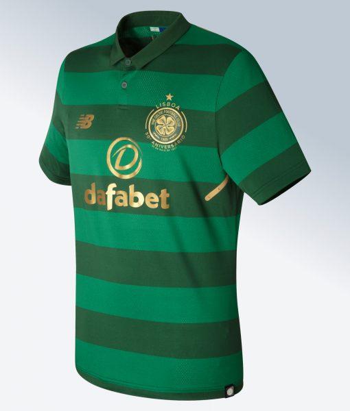Camiseta suplente 2017-18 del Celtic FC | Foto New Balance