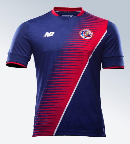 Nueva camiseta de Costa Rica | Imagen New Balance
