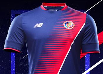 Nueva camiseta de Costa Rica | Foto New Balance
