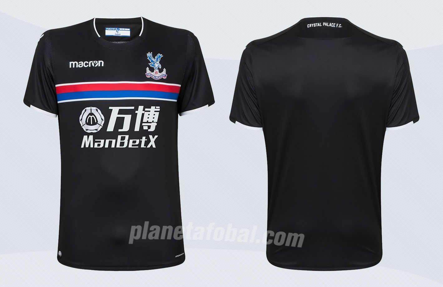 Camiseta suplente Macron del Crystal Palace | Imágenes Web Oficial