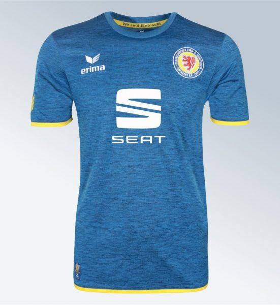 Camiseta suplente Erima del Eintracht Braunschweig | Foto Web Oficial