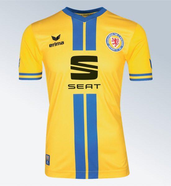 Camiseta titular Erima del Eintracht Braunschweig | Foto Web Oficial