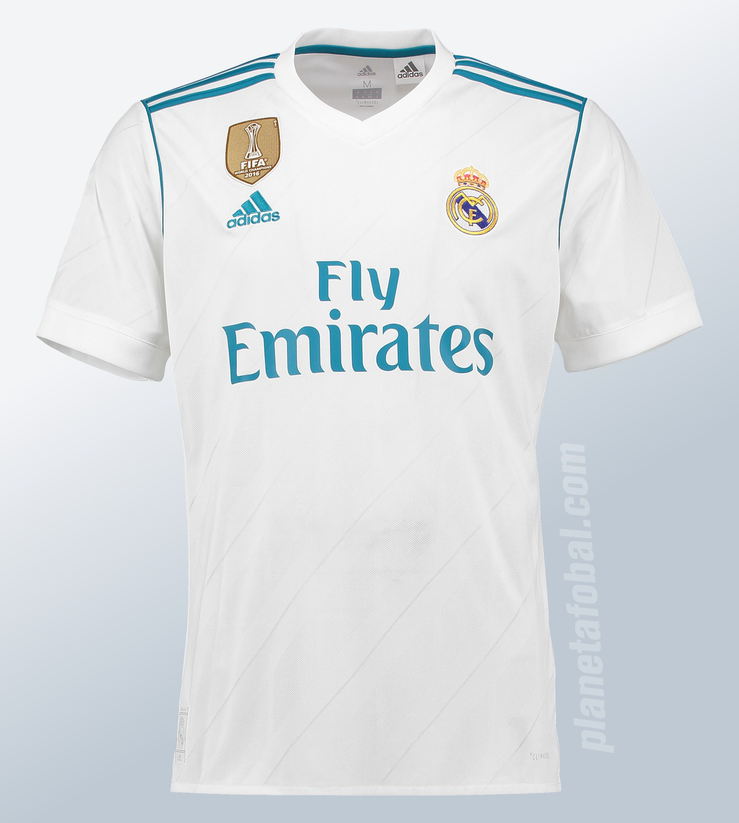 Camiseta Adidas del Real Madrid 2017/18