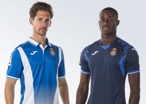 Nuevas camisetas del Espanyol | Foto Web Oficial