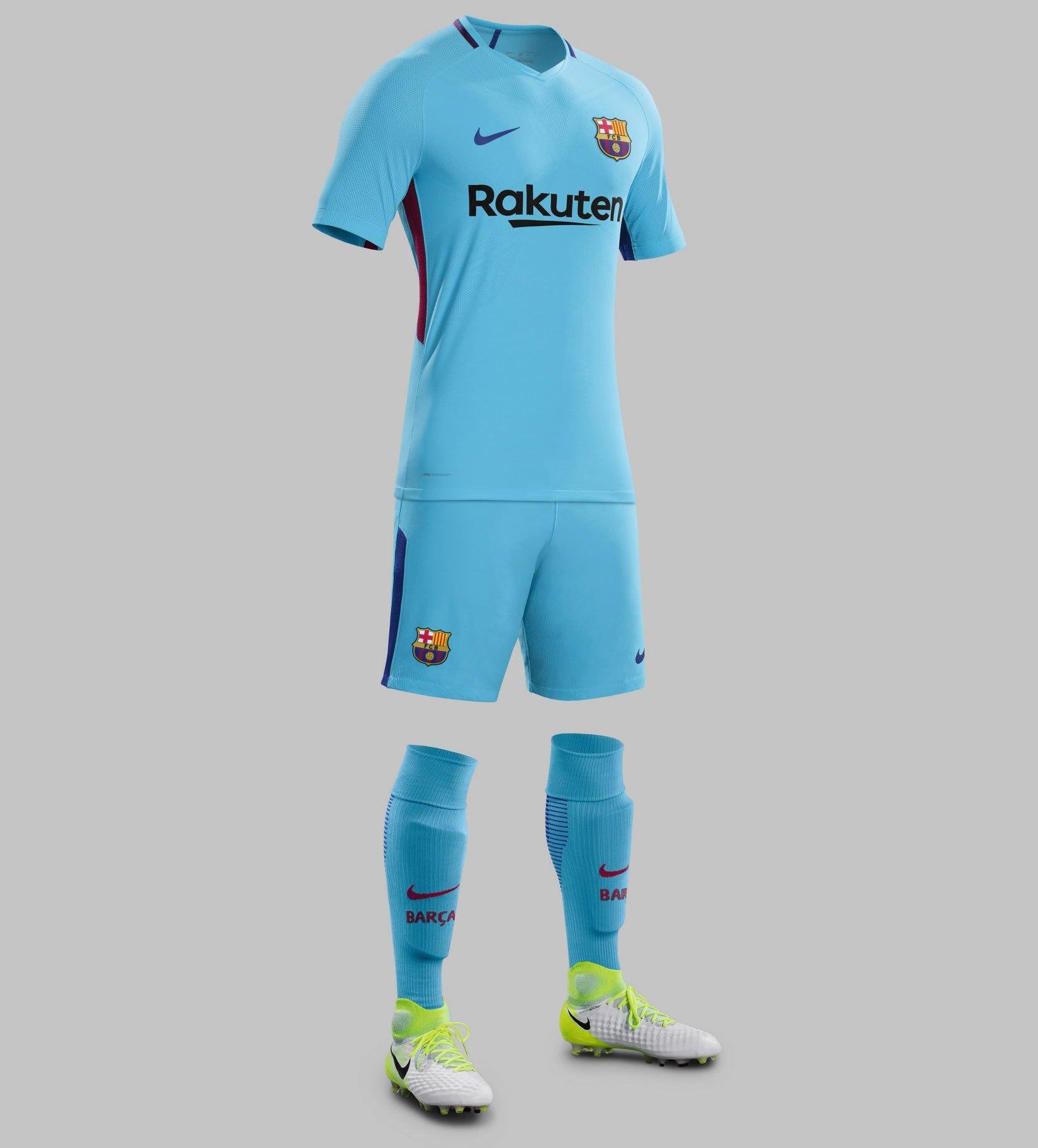 Nueva camiseta suplente del Barcelona | Foto Web Oficial