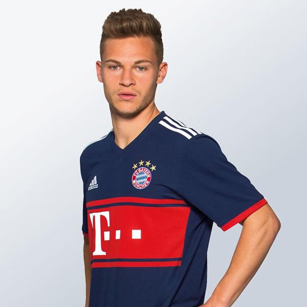 Joshua Kimmich con la camiseta del Bayern | Foto Web Oficial