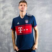 Thomas Müller con la camiseta del Bayern | Foto Adidas