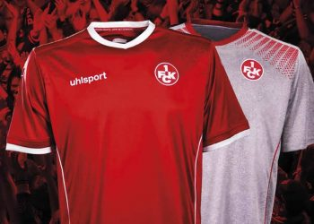 Camisetas uhlsport del FC Kaiserslautern | Foto Web Oficial