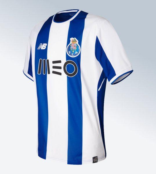Camiseta titular 2017-18 del FC Porto | Foto New Balance
