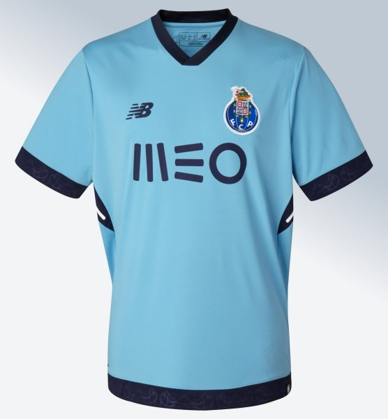 Tercera camiseta 2017-18 del FC Porto | Foto New Balance