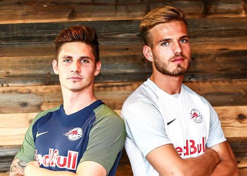 Camisetas internacionales del FC Salzburg   Foto Web Oficial