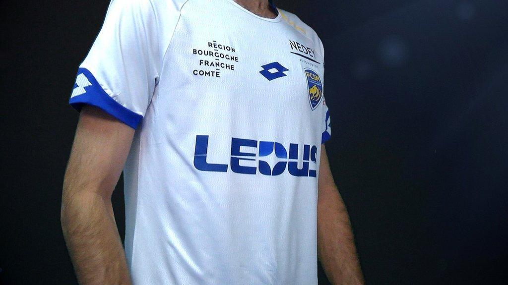 Camiseta suplente del Sochaux | Foto Web Oficial