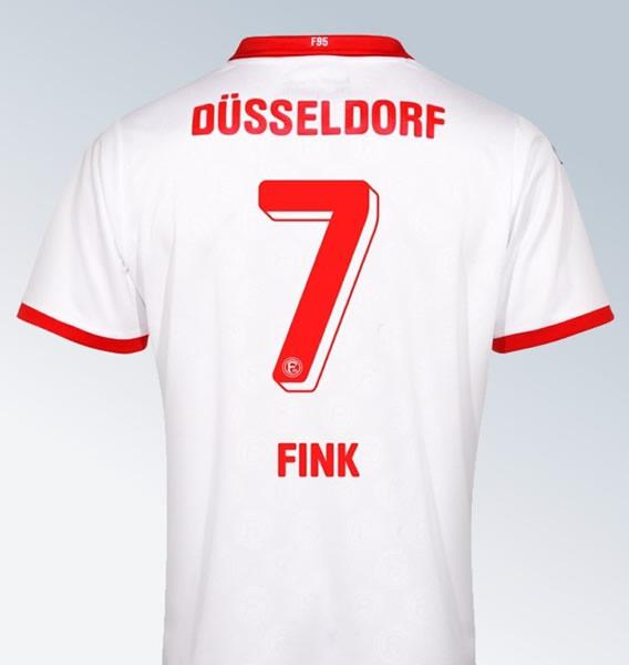 Camiseta titular uhlsport del Fortuna Düsseldorf | Foto Web Oficial