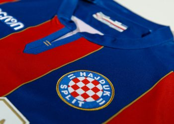 Camiseta suplente del Hajduk Split 2017-18 | Foto Web Oficial