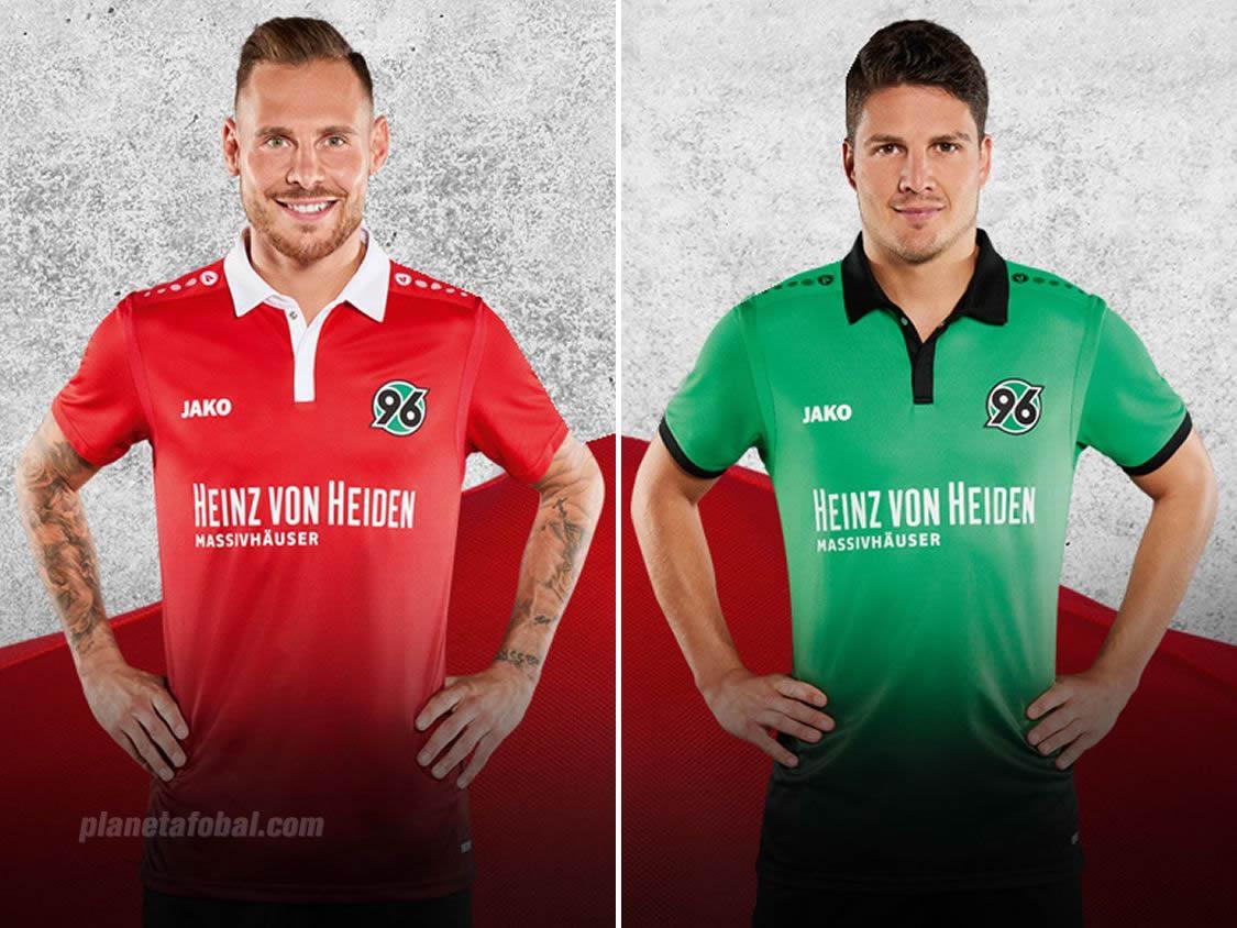 Nuevas camisetas del Hannover 96 | Imágenes Web Oficial