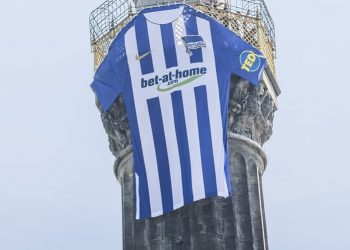 Camiseta titular Nike del Hertha BSC | Foto Web Oficial