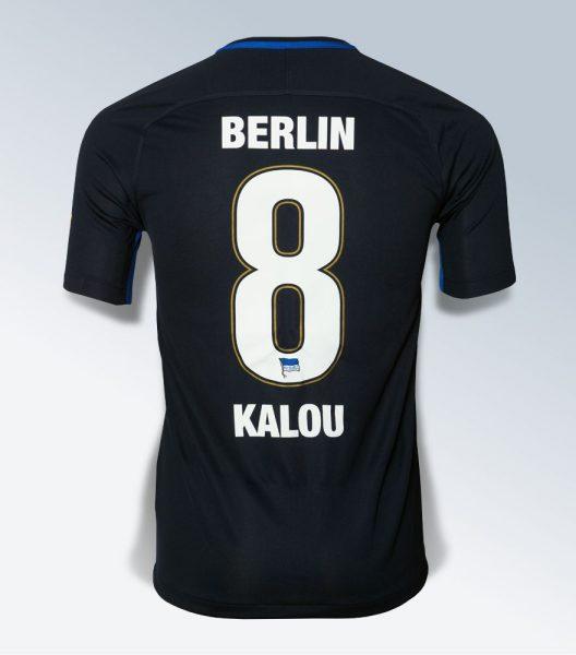 Camiseta suplente Nike del Hertha BSC | Foto Web Oficial