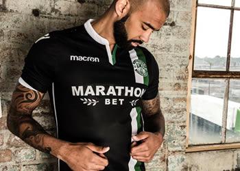 Camiseta suplente del Hibernian FC | Foto Web Oficial