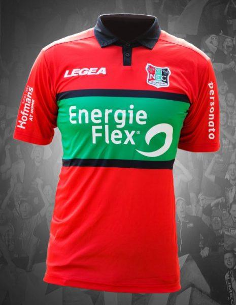 Camiseta titular 2017-18 del NEC Nijmegen | Foto Web Oficial