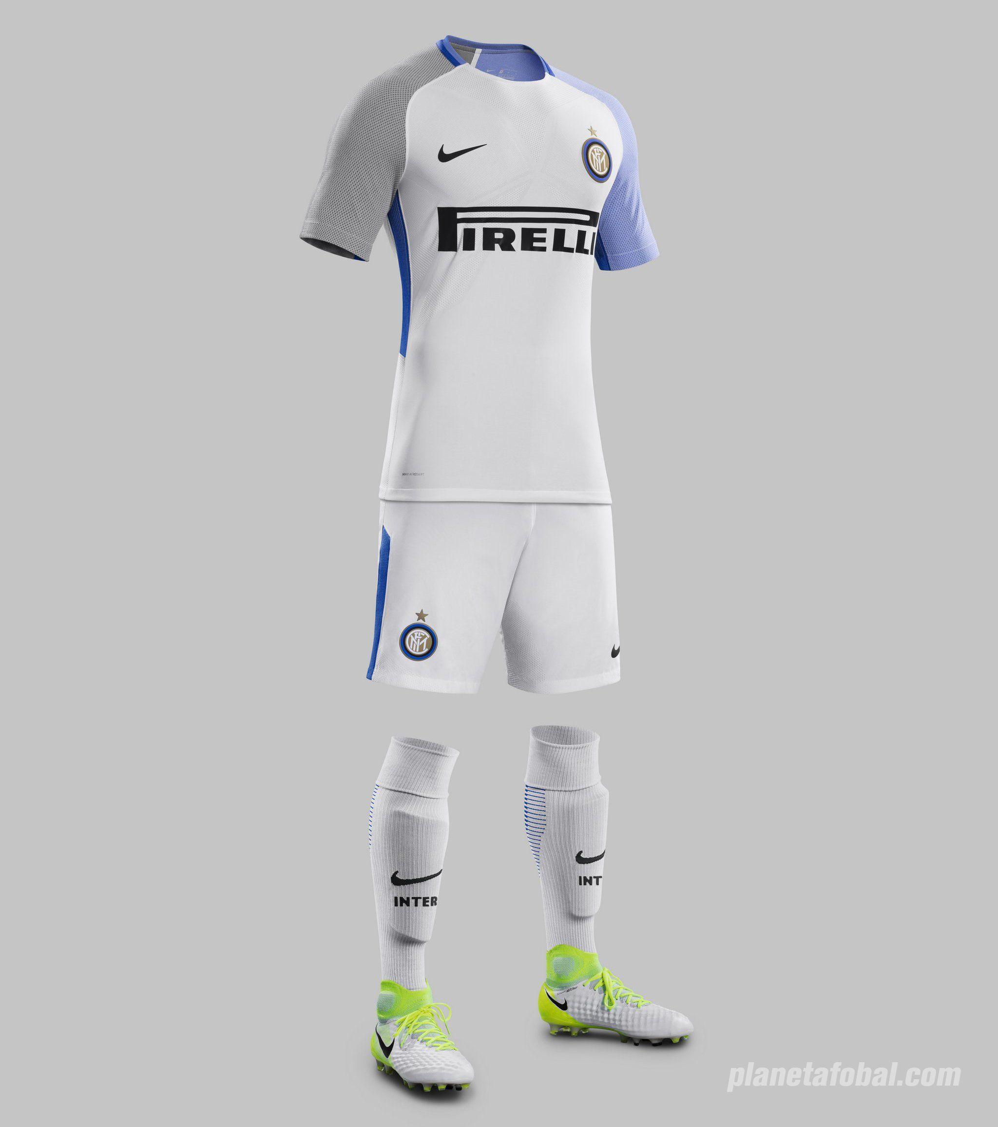 Camiseta suplente 2017-18 del Inter de Milán | Foto Nike