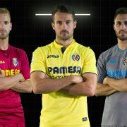 Nuevas equipaciones Joma del Villarreal | Foto Web Oficial