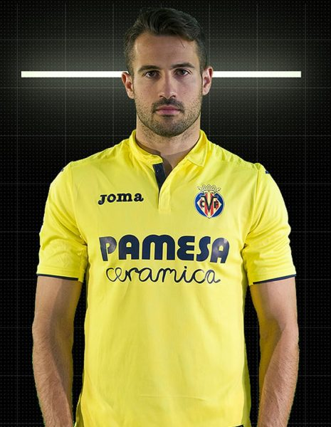 Mario con la camiseta titular del Villarreal | Foto Web Oficial