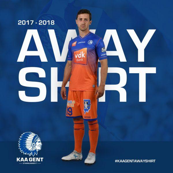 Camiseta suplente del KAA Gent | Foto Web Oficial