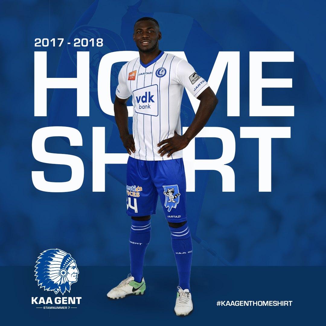 Camiseta titular del KAA Gent | Foto Web Oficial