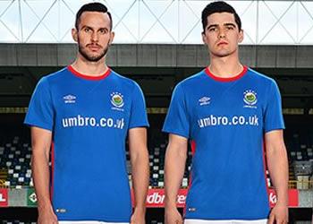 Camiseta titular 2017-18 del Linfield FC | Foto Web Oficial
