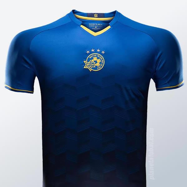 Camiseta suplente del Maccabi Tel Aviv | Imagen Web Oficial