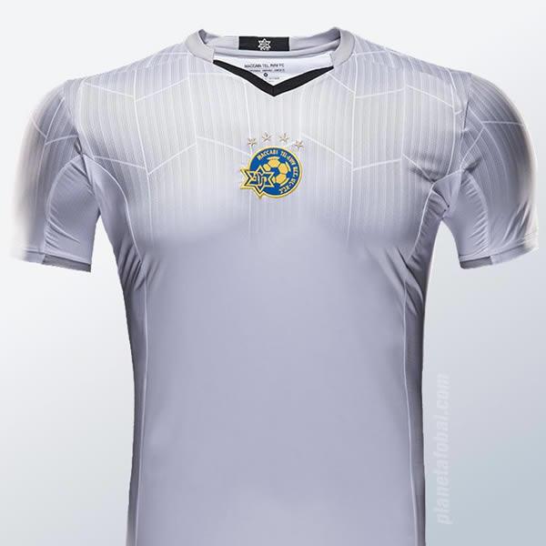 Tercera camiseta del Maccabi Tel Aviv | Imagen Web Oficial
