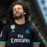 Marcelo con la nueva indumentaria del Real Madrid | Foto Adidas