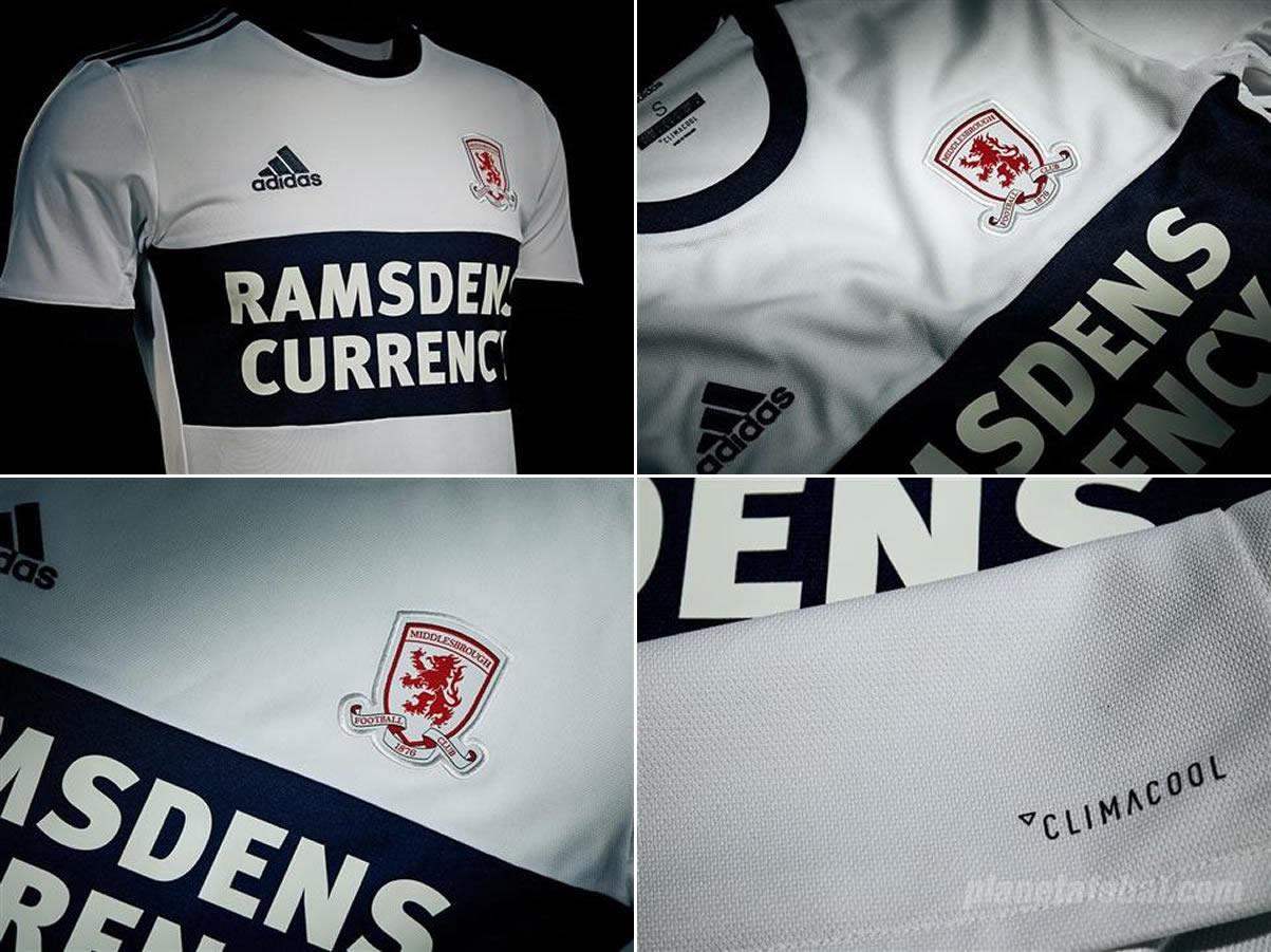 Camiseta suplente Adidas del Middlesbrough FC | Imágenes Web Oficial
