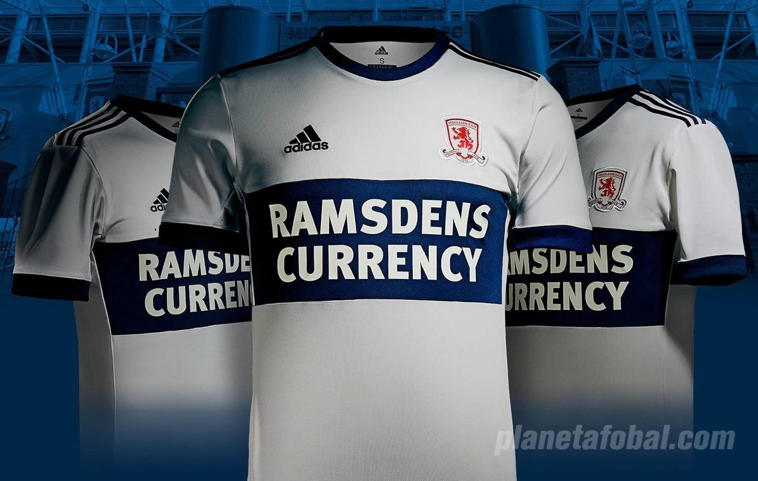 Camiseta suplente Adidas del Middlesbrough FC | Foto Web Oficial