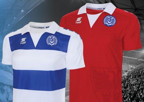 Nuevas camisetas del MSV Duisburg   Foto Capelli Sport