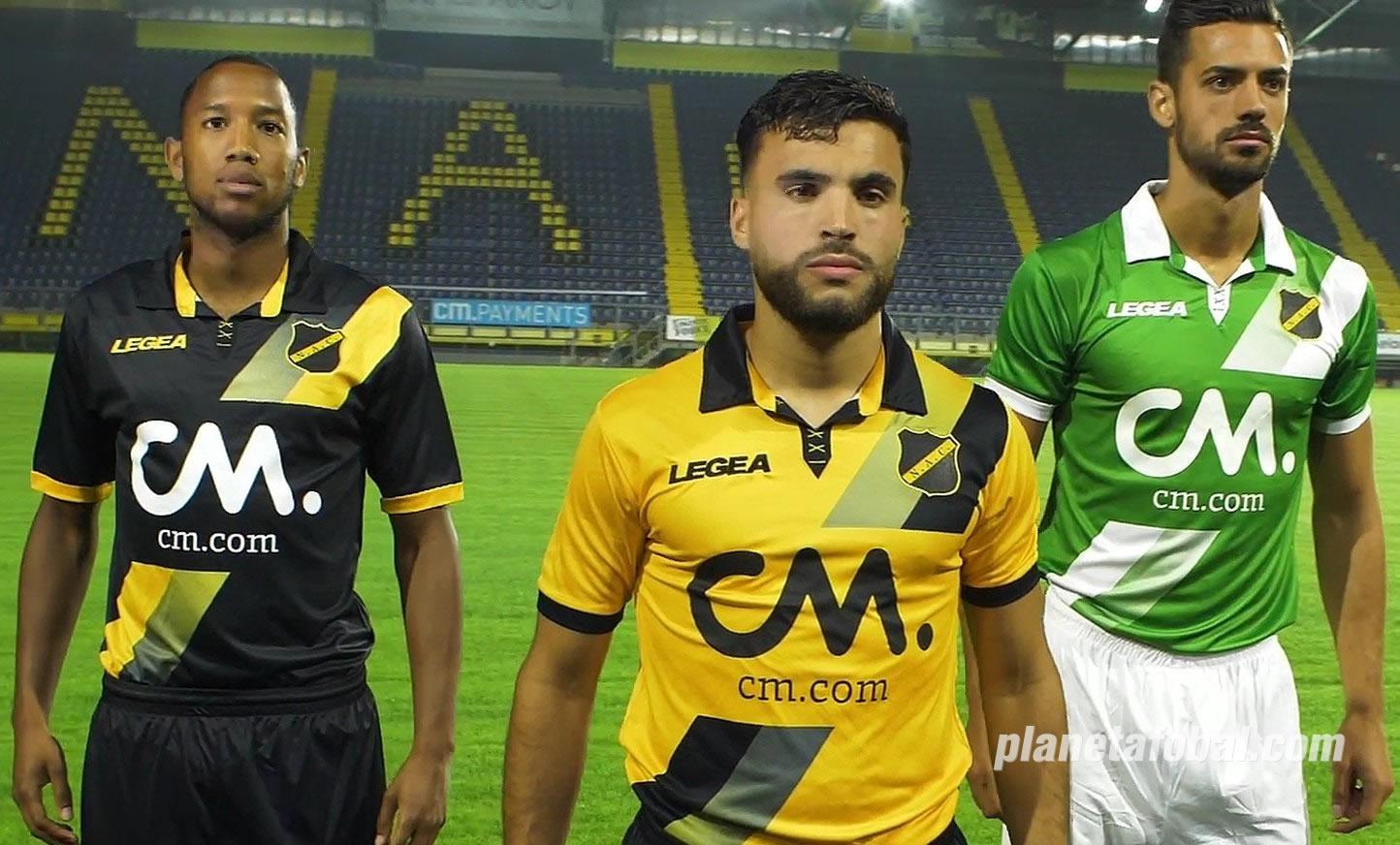 Camisetas Legea del NAC Breda