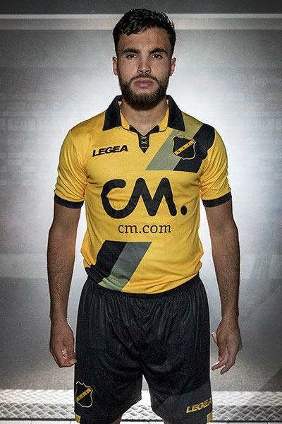 Camiseta titular Legea del NAC Breda | Foto Web Oficial