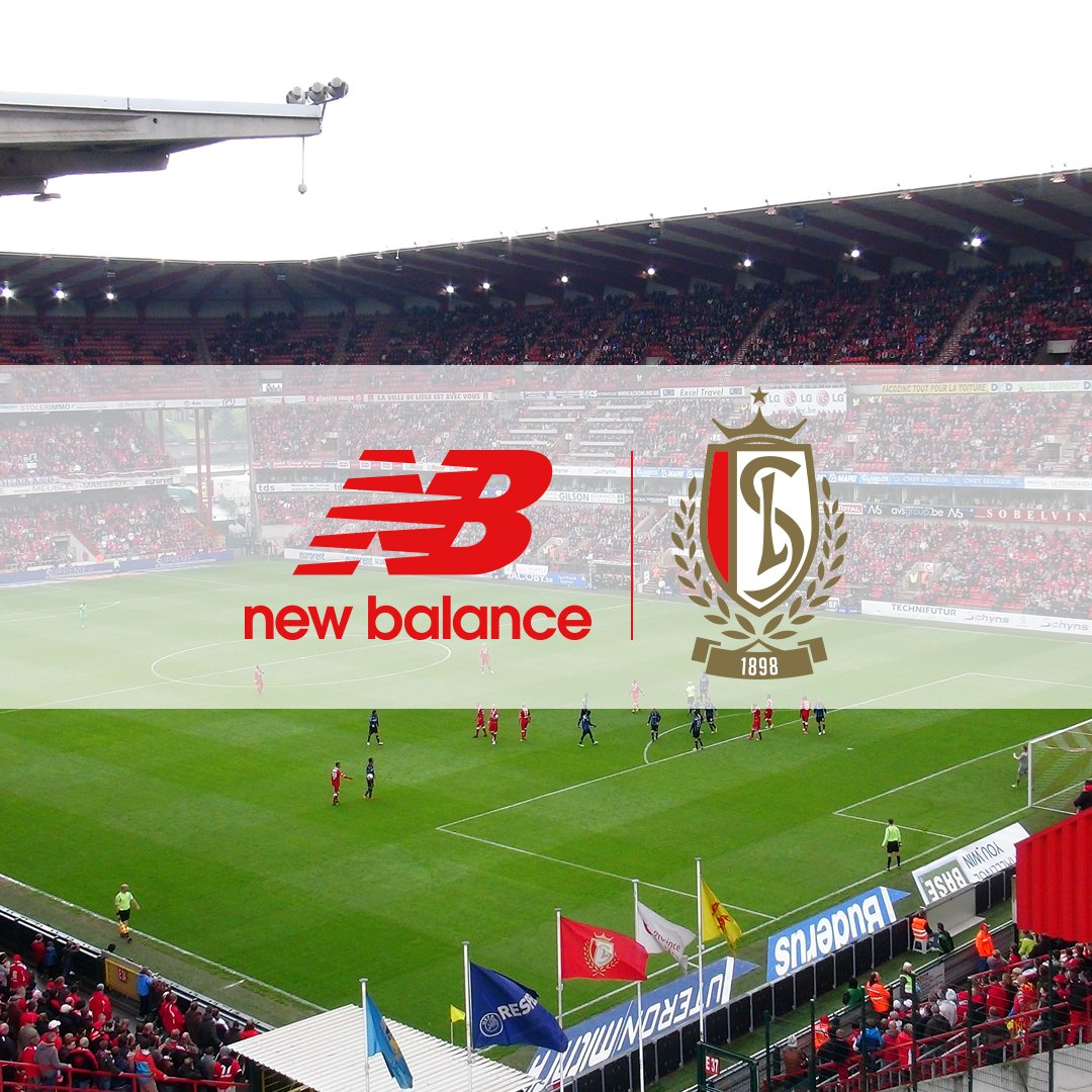 New Balance firmó contrato con el Standard de Lieja