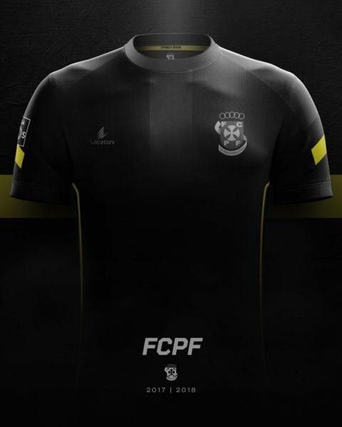 Camiseta alternativa 2017-18 del Paços de Ferreira | Foto Web Oficial