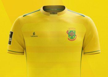 Camiseta titular 2017-18 del Paços de Ferreira | Foto Web Oficial