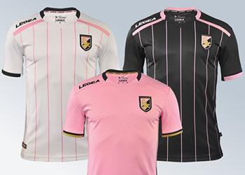 Camisetas Legea del Palermo para 2017/2018 | Imágenes web oficial
