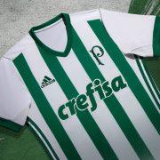 Camiseta suplente Adidas del Palmeiras | Foto Web Oficial