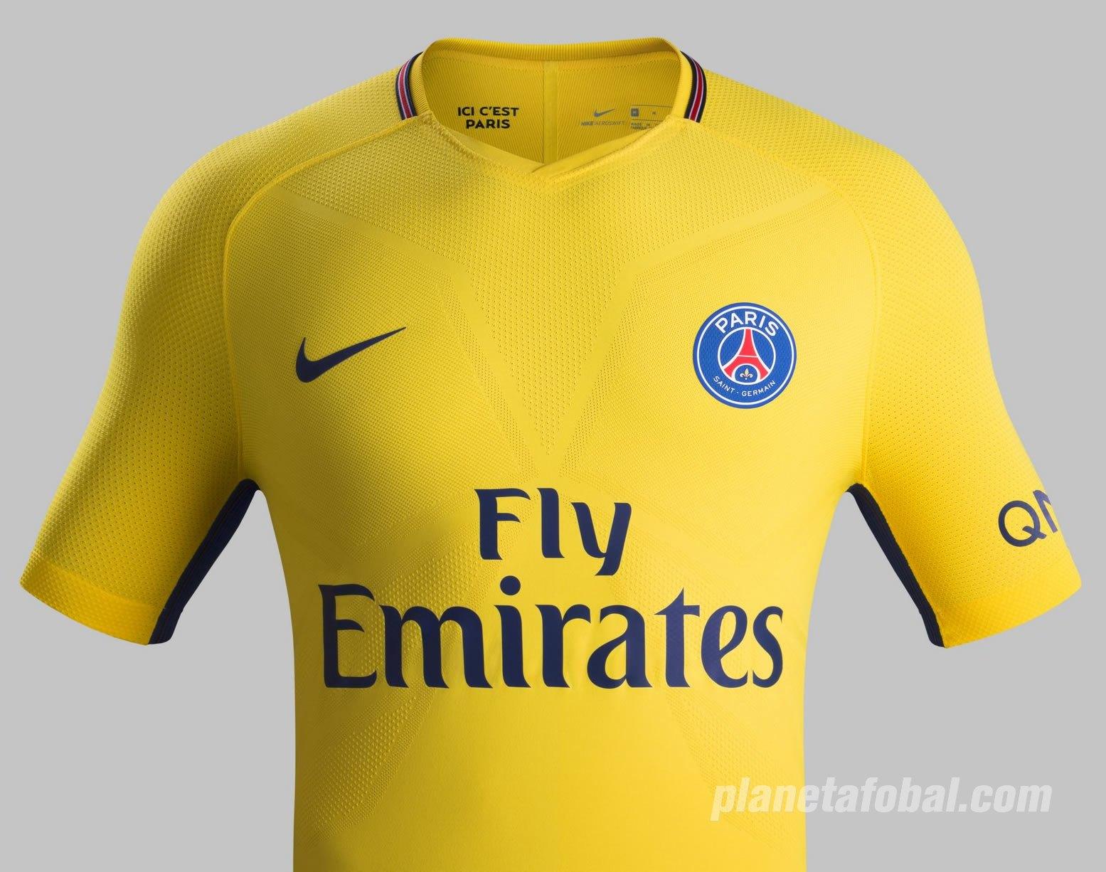 Camiseta suplente del PSG 2017-18 | Foto Nike
