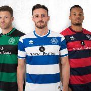 Camisetas Erreà Sport del QPR | Foto Web Oficial