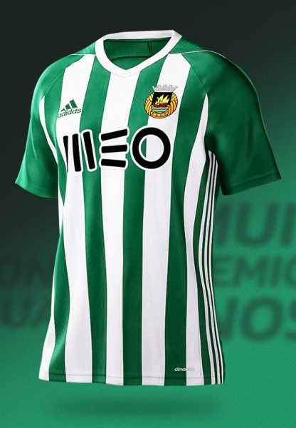 Camiseta titular Adidas 2017-18 del Rio Ave | Foto Web Oficial