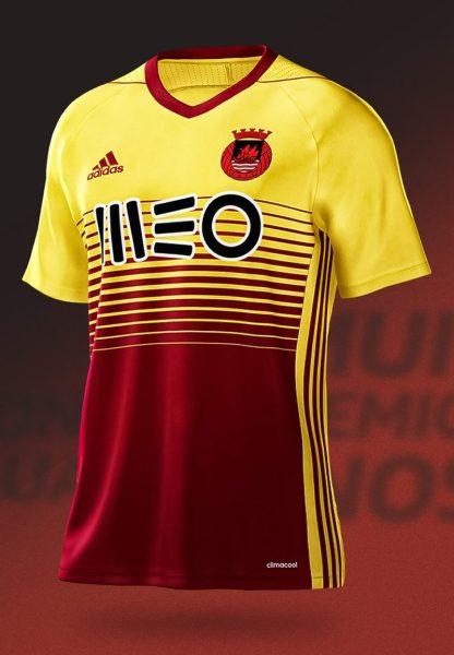 Camiseta suplente Adidas 2017-18 del Rio Ave | Foto Web Oficial