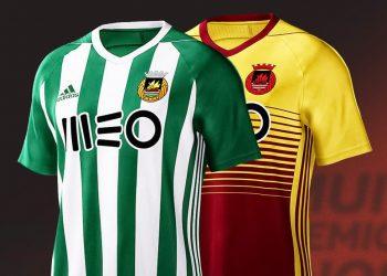 Camisetas Adidas 2017-18 del Rio Ave | Foto Web Oficial