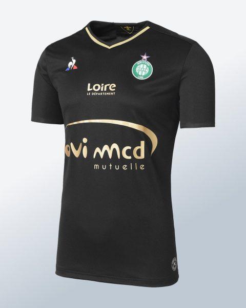Camiseta suplente le coq sportif del Saint-Étienne | Foto Web Oficial