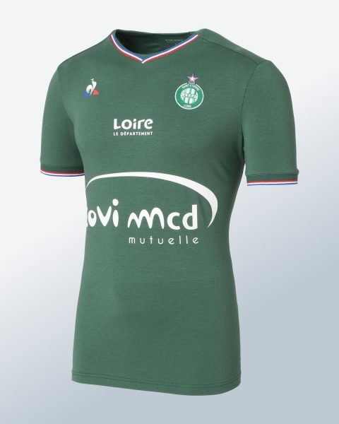 Camiseta titular le coq sportif del Saint-Étienne | Foto Web Oficial