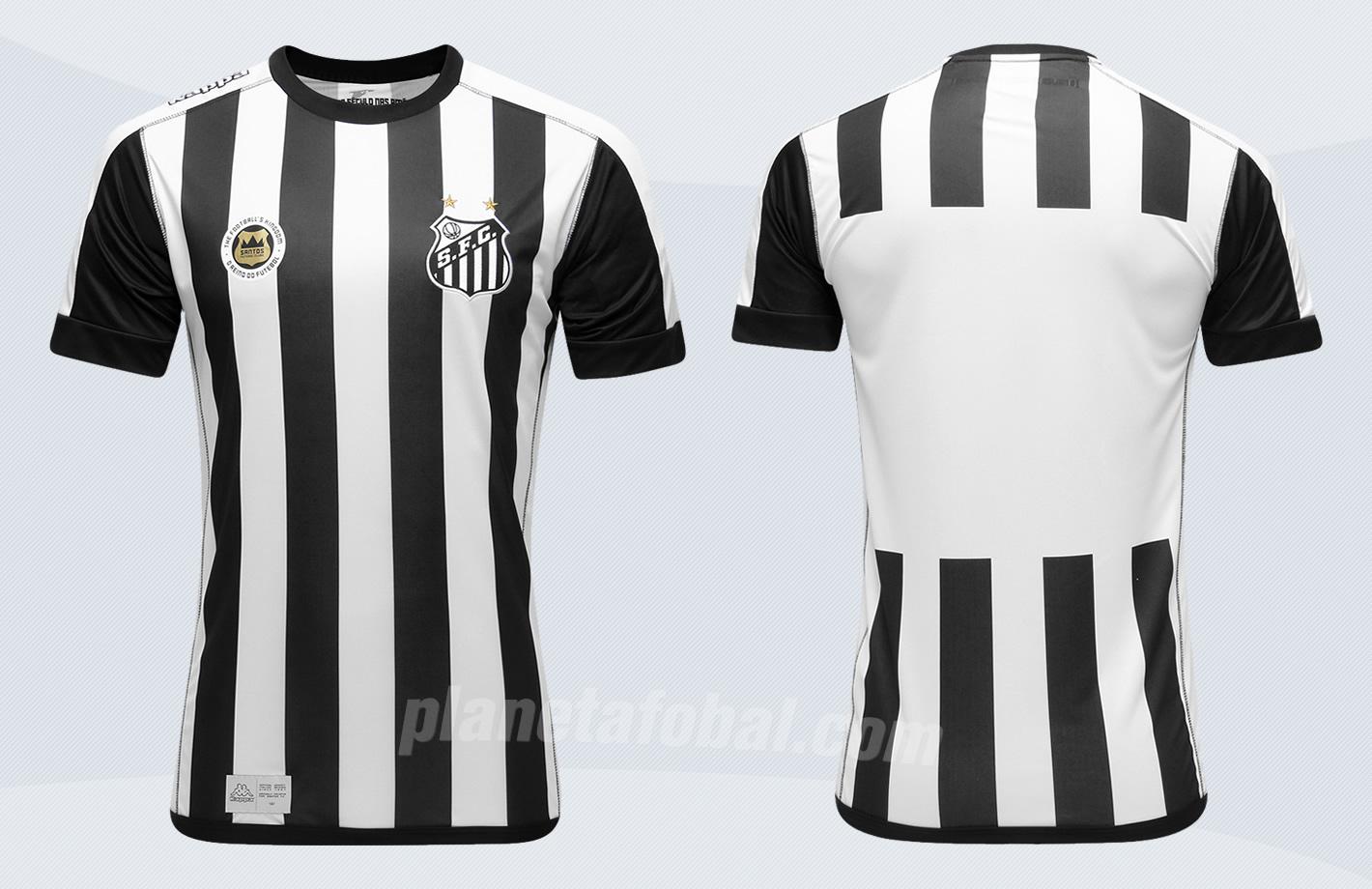 Nueva camiseta suplente del Santos | Imágenes Web Oficial